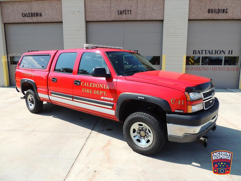 Caledonia Fire Dept. Utility Truck 11