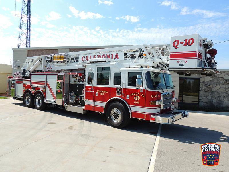 Caledonia Fire Dept. Quint 10