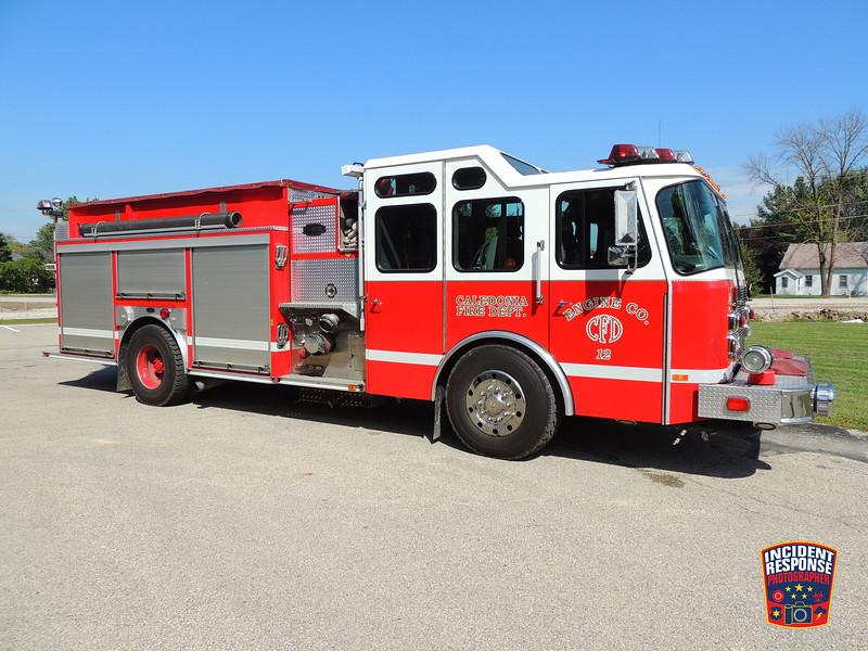 Caledonia Fire Dept. Engine 12