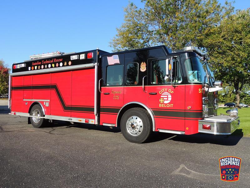 Beloit Fire Dept. Rescue Squad 152