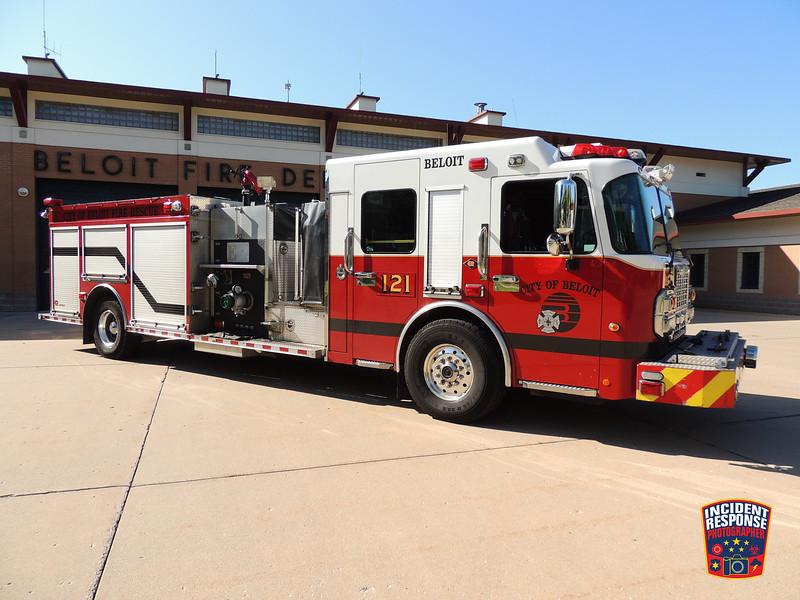 Beloit Fire Dept. Engine 121 (reserve)