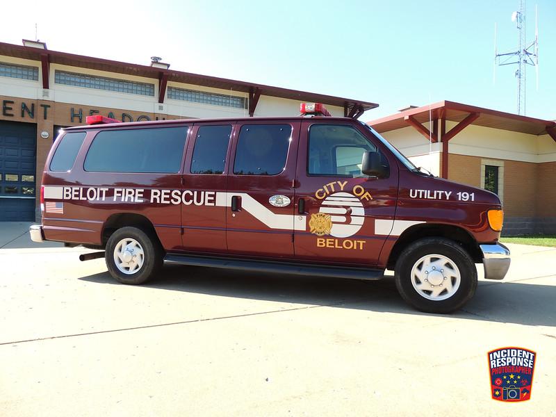Beloit Fire Dept. Utility Van 191