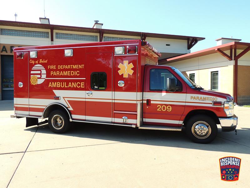 Beloit Fire Dept. Ambulance 209 (reserve)