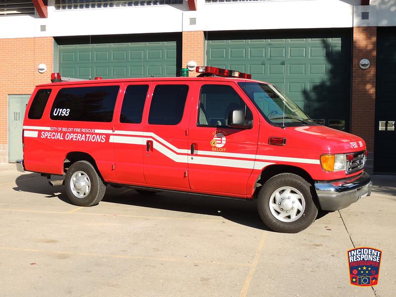 Beloit Fire Dept. Special Operations