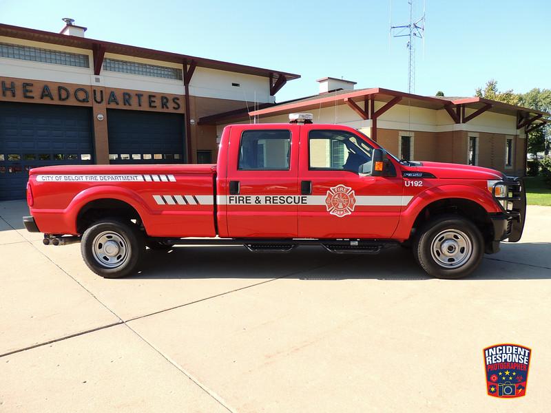Beloit Fire Dept. Utility Truck 192