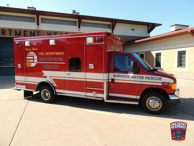Beloit Fire Dept. Surface Water Rescue Unit