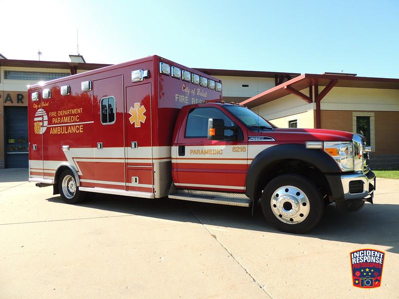 Beloit Fire Dept. Ambulance