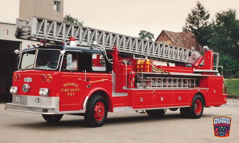Monroe Fire Dept. Ladder Truck 757
