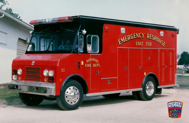 Monroe Fire Dept. Squad 750