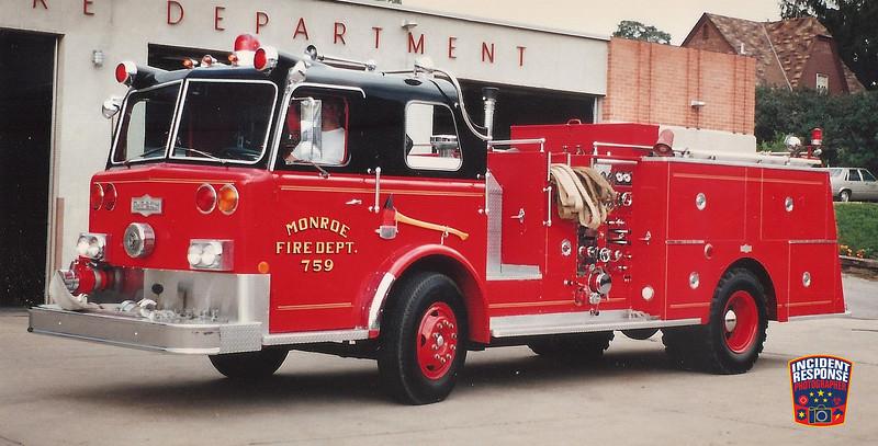 Monroe Fire Dept. Engine 759