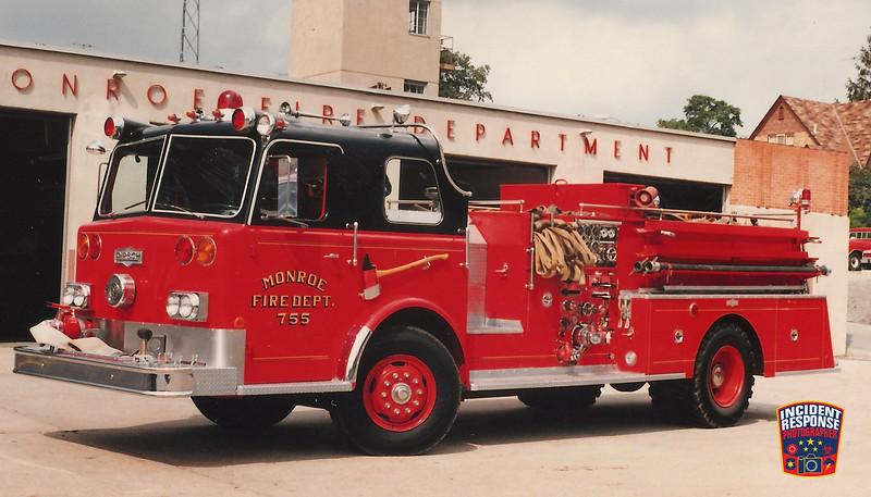 Monroe Fire Dept. Engine 755