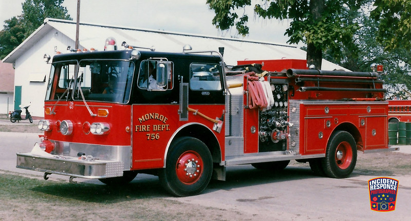 Monroe Fire Dept. Engine 756