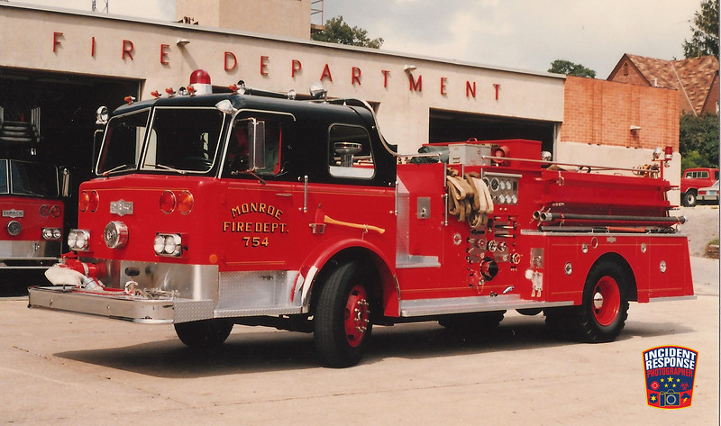 Monroe Fire Dept. Engine 754