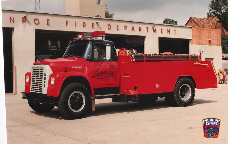 Monroe Fire Dept. Tanker 751
