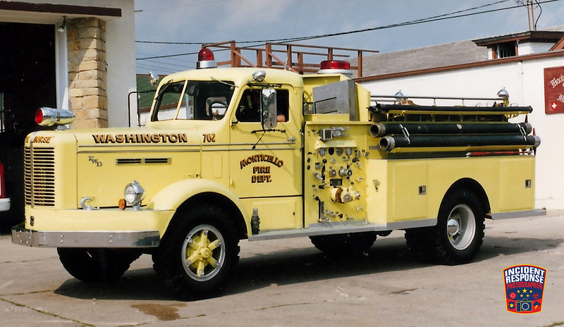Monticello Fire Dept. Engine 762