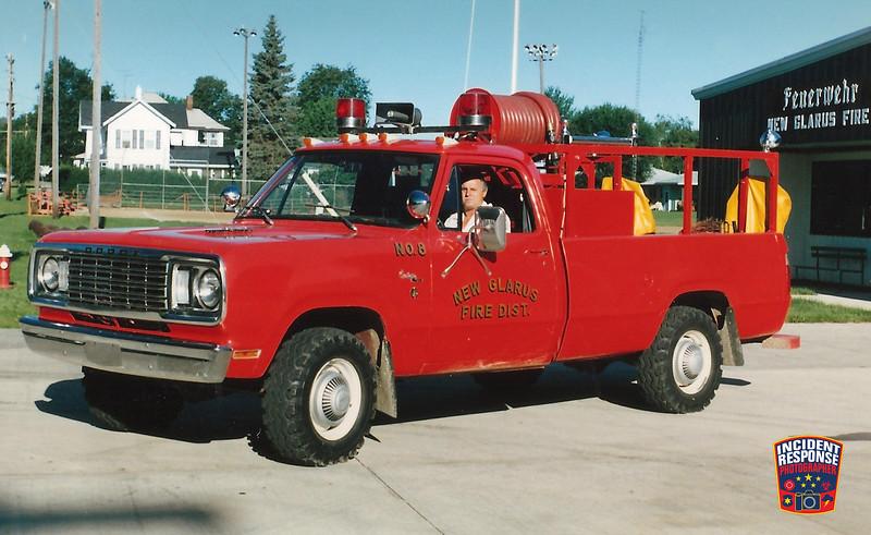 New Glarius Fire Dept. Brush Truck 8