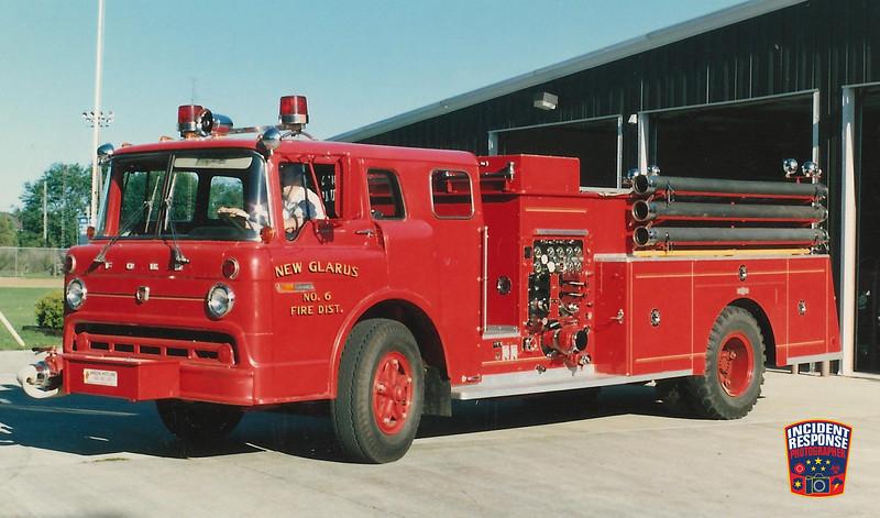 New Glarius Fire Dept. Engine 6