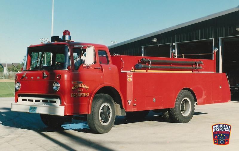 New Glarius Fire Dept. Tanker 7
