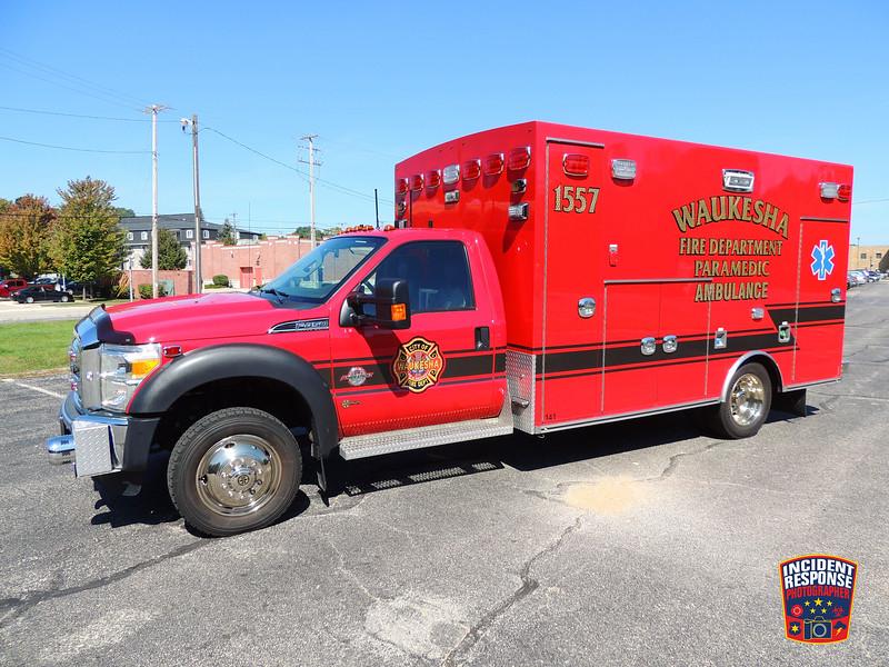 Waukesha Fire Dept. Ambulance 1557 (reserve)