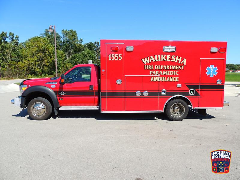 Waukesha Fire Dept. Ambulance 1555