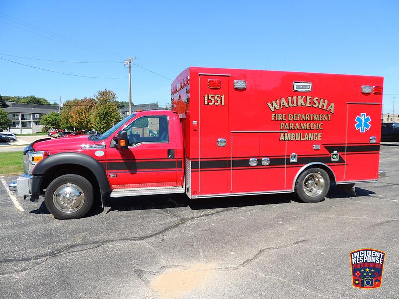 Waukesha Fire Dept. Ambulance 1551