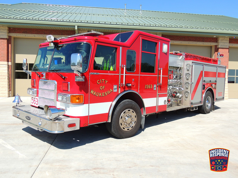 Waukesha Fire Dept. Engine 1563
