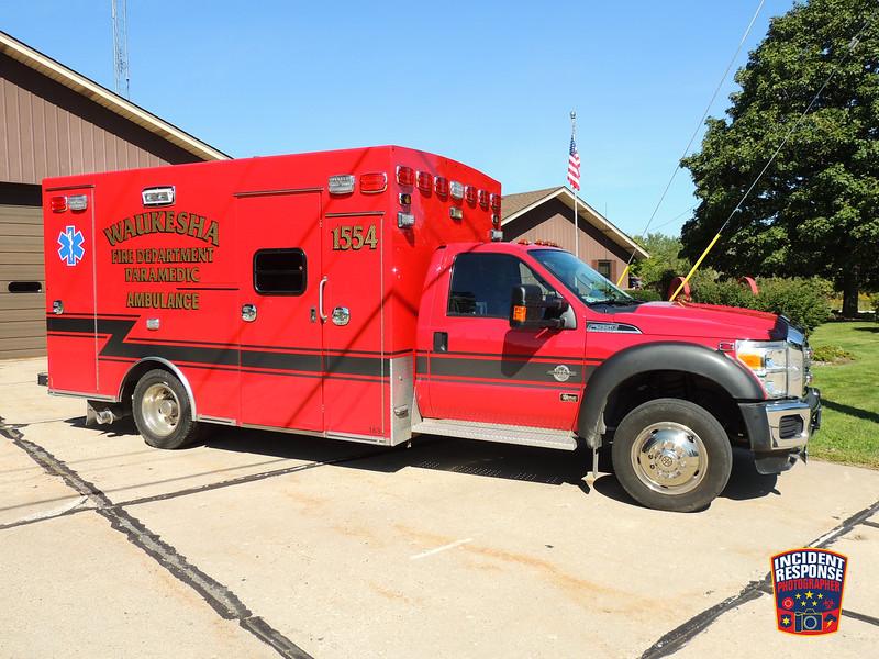 Waukesha Fire Dept. Ambulance 1554