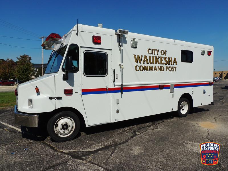 Waukesha Fire Dept. Command Post