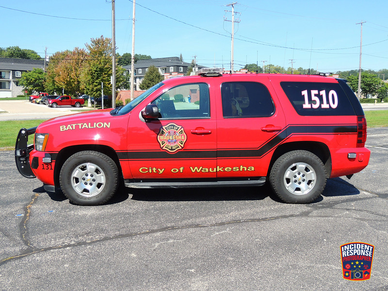 Waukesha Fire Dept. Battalion Chief 1510