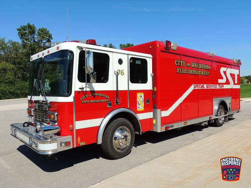 Waukesha Fire Dept. Rescue 1576 (Special Services Team)
