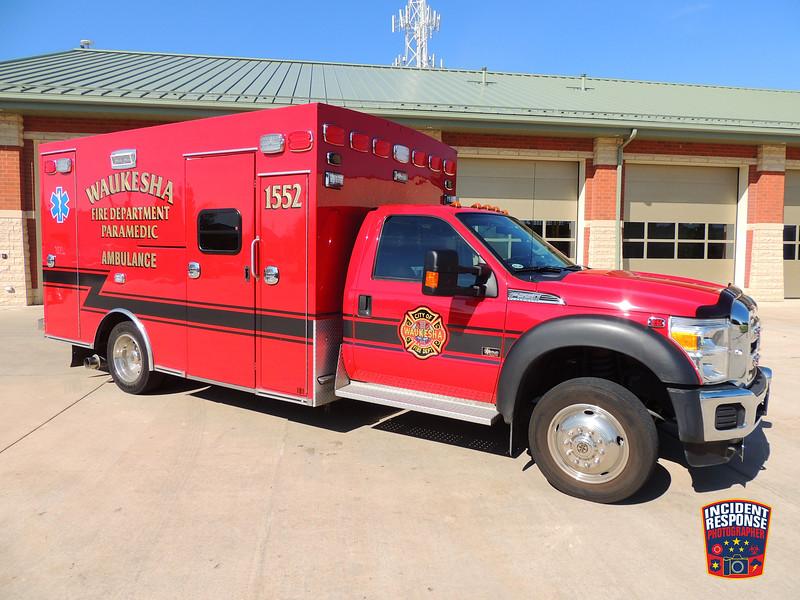 Waukesha Fire Dept. Ambulance 1552