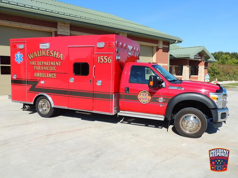 Waukesha Fire Dept. Ambulance 1556 (reserve)