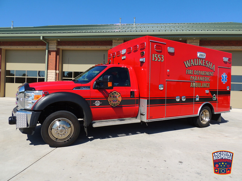Waukesha Fire Dept. Ambulance 1553