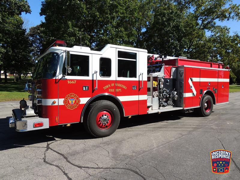 Town of Waukesha Fire Dept. Engine 1667