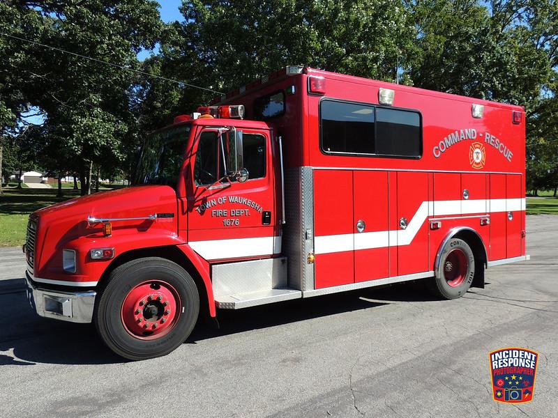 Town of Waukesha Fire Dept. Rescue 1676