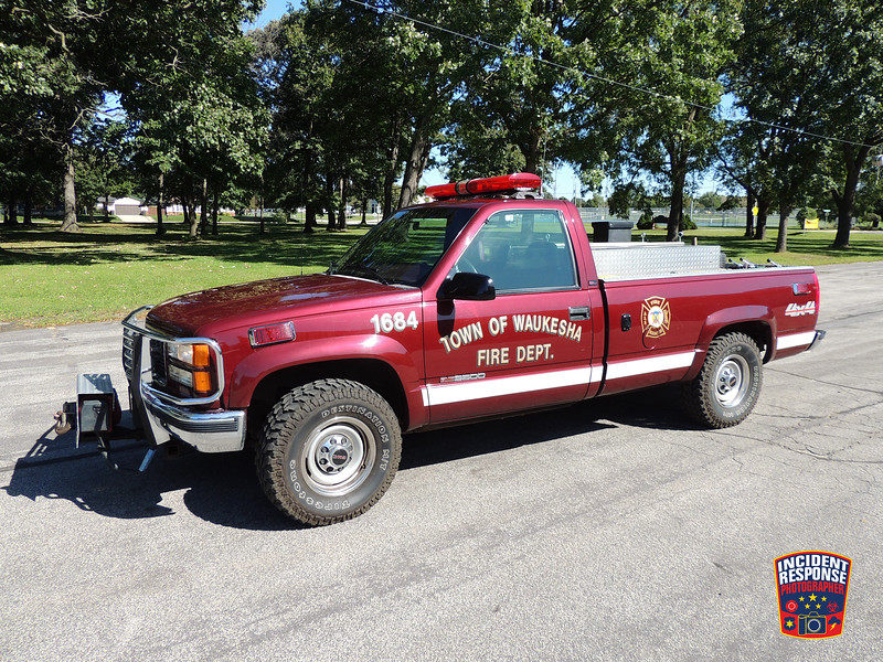 Town of Waukesha Fire Dept. Brush Truck 1684