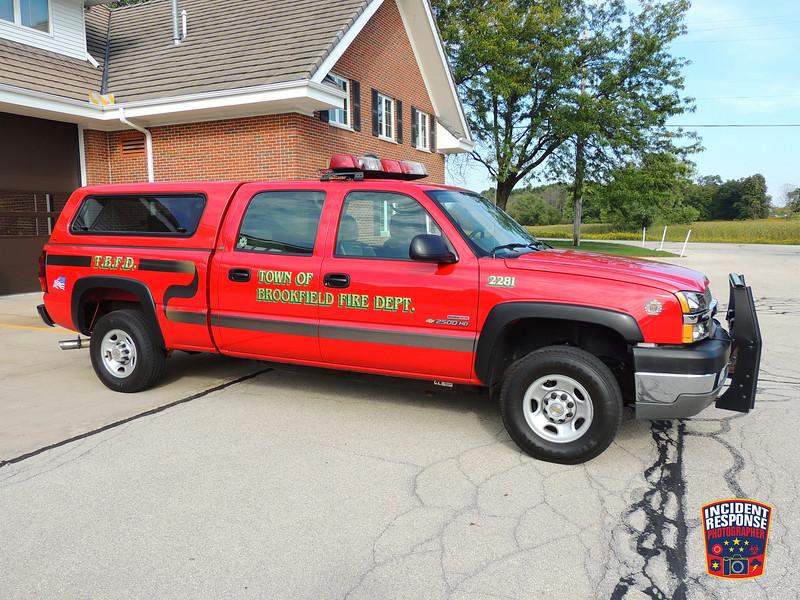 Town of Brookfield Fire Dept. Utility Truck 2281
