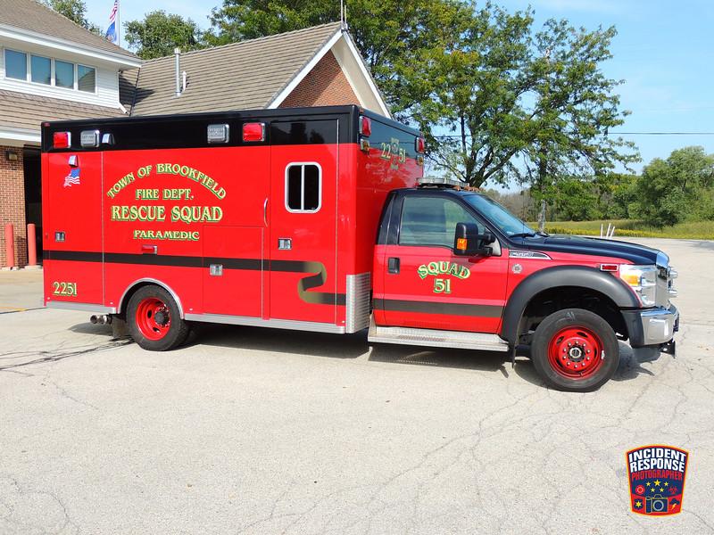 Town of Brookfield Fire Dept. Ambulance 2251