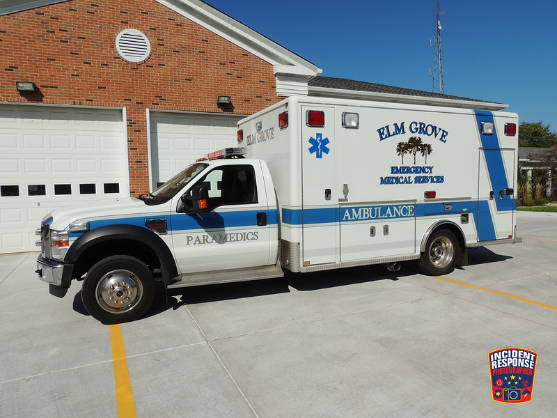 Elm Grove Emergency Medical Services Ambulance