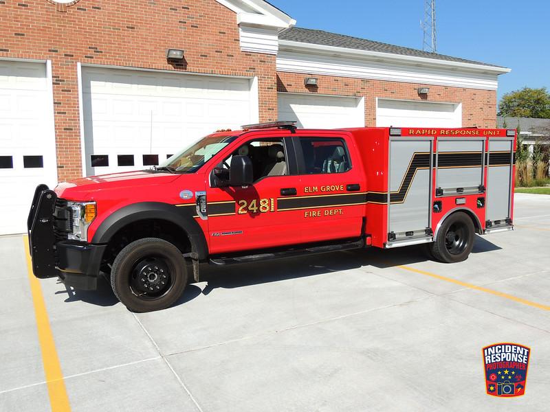 Elm Grove Fire Dept. Rapid Response Unit 2481