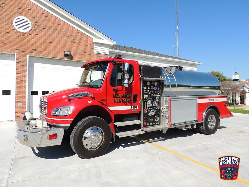 Elm Grove Fire Dept. Tender 2491