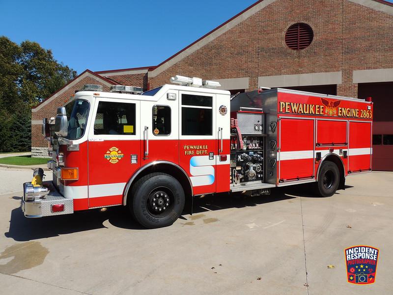 Pewaukee Fire Dept. Engine 2863 (reserve)