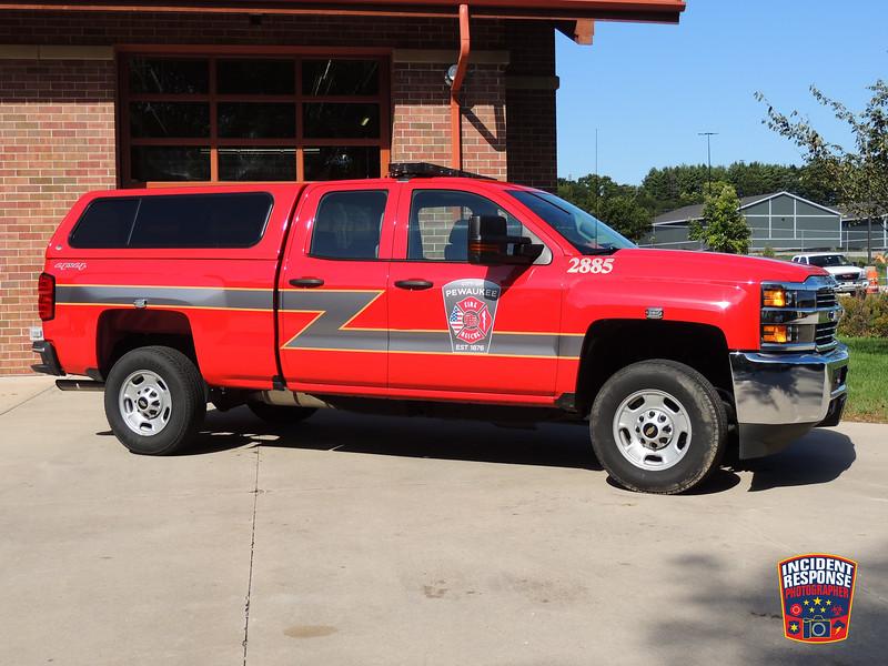 Pewaukee Fire Dept. Utility Truck 2885