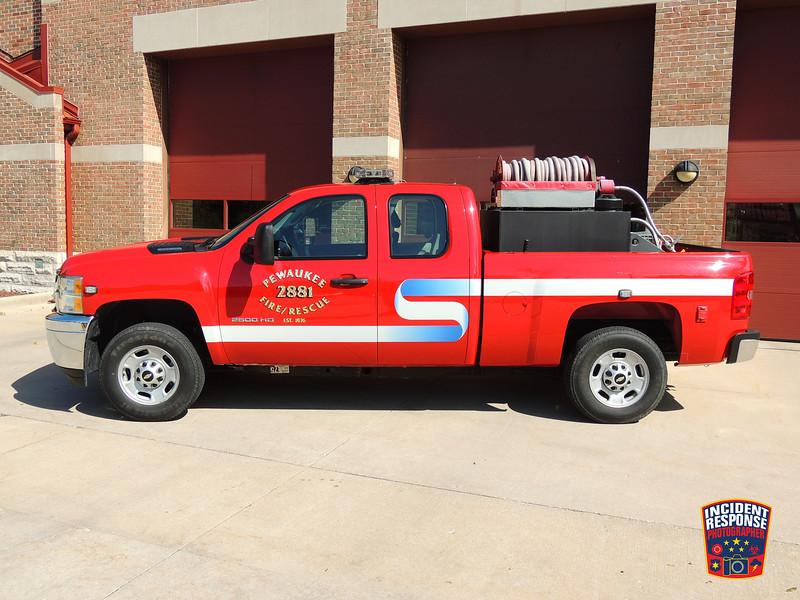 Pewaukee Fire Dept. Brush Truck 2881