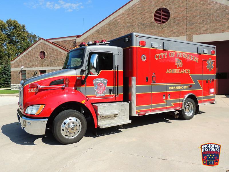 Pewaukee Fire Dept. Ambulance 2851