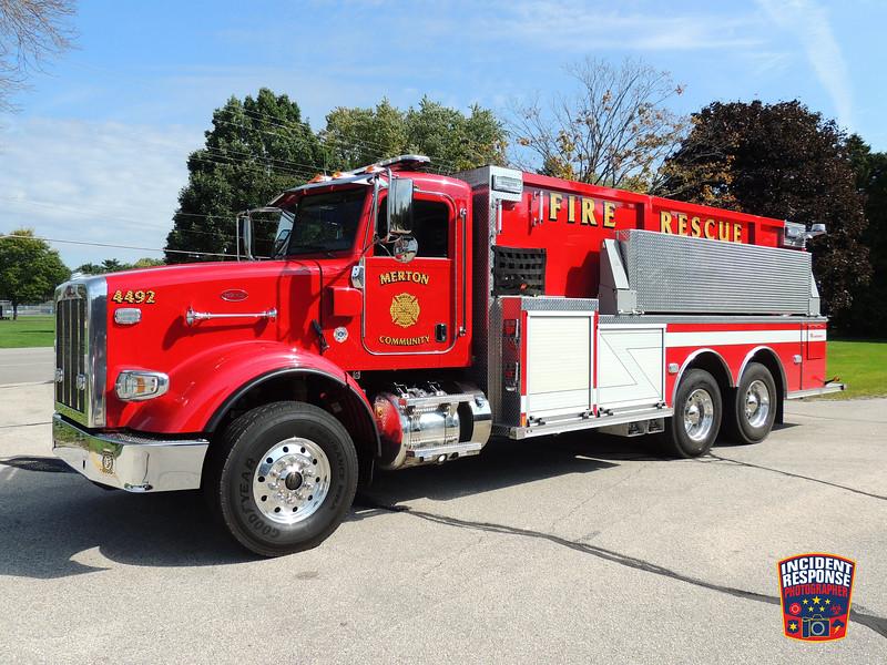 Merton Fire Dept. Tender 4492
