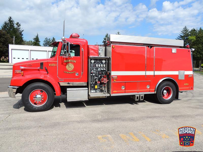 Merton Fire Dept. Tender 4491