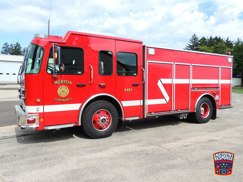 Merton Fire Dept. Engine 4487