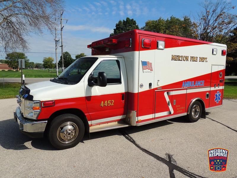 Merton Fire Dept. Ambulance 4452