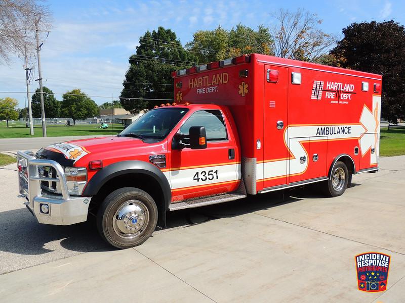Merton Fire Dept. Ambulance 4451